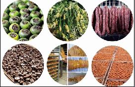 農副產品,肉質品,海產品,藥材烘干設備